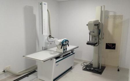 Equipo radiológico y mamografía
